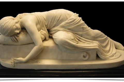 Harriet Hosmer: Beatrice Cenci (1865)