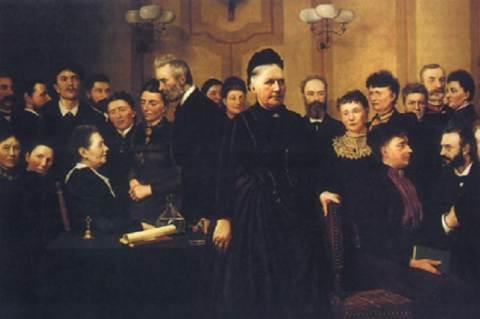 Line Luplau (Marie Luplau festménye)