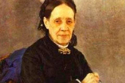 Ilja Repin: Nagyezsda Sztaszova (1884, részlet)
