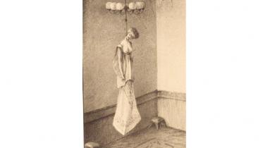 Alfred Kubin: Madame - modern csillárdísz