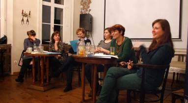A szegénység női arcai kerekasztal-beszélgetés. Fotó: Csécsei Ilona